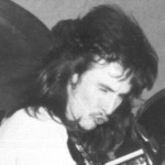 Benjy Mudie with Void in the late 70's - click for bigger picture